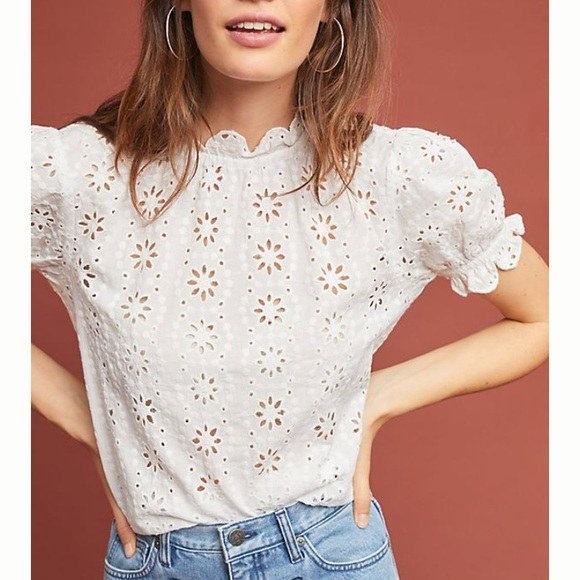dra Tops - Anthropologie Eyelet top - brand new